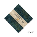 Stonehenge Gradations Chips Blue Planet Charm Pack, Northcott