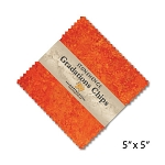 Stonehenge Gradations Chips Sunglow Charm Pack, Northcott