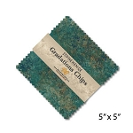 Stonehenge Gradations Chips Oxidized Copper Charm Pack, Northcott