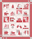 Country Christmas Quilt Kit, Bunny Hill Designs by Moda