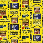Spam 8933 Yellow Spam Cans, Michael Miller
