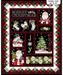 Farmhouse Christmas DP23493 99 Christmas Digital Panel, Northcott