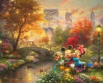 Disney Dreams DS20249C1 Central Park Digital Panel, David Textiles