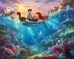 Disney Dreams DS20840C1 Little Mermaid Digital Panel Thomas Kincaid David Textiles