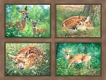 Endeering 4330 Digital Deer Panel P and B Textiles