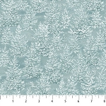 Frosted Woodland Flannel F23631 44 Shaded Trees, Northcott