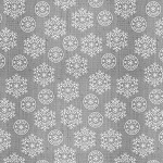 Winter Frost Flannel F9225 90 Grey Snowflake Texture, Henry Glass