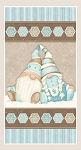 I Love Snow Gnomies Flannel F9646P 13 24 Inch Gnome Panel Henry Glass