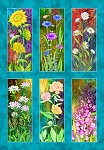 Multi Flower Towers Digital Panel FLOJ4257, P and B Textiles
