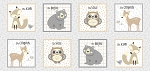Little Critters 4293 MU Block Panel P and B Textiles