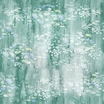 Painted Forest MRD7 79 Wildflowers Seafoam Digital, McKenna Ryan by Hoffman