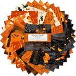 Haunted Night 5 Inch Charm Pack, Wilmington Prints