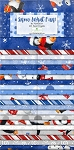 Snow What Fun Jelly Roll Strips Wilmington Prints