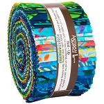 Totally Tropical Artisan Batik Jelly Roll Robert Kaufman