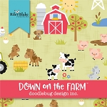 Down on the Farm 10 Inch Square Layer Cake Riley Blake
