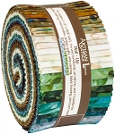 By the Brook Artisan Batik Jelly Roll Robert Kaufman