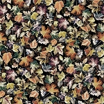 Woodland Whispers S4841 66 Autumn Leaves Digital Hoffman