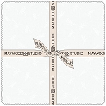 Solitaire White Ultra White 10 Inch Squares, Maywood Studio