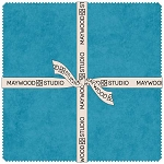 Shadowplay Flannel 10 Inch Squares Oceanic Colors, Maywood Studio