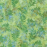 Serenity Lake Batik 19409 43 Leaf, Robert Kaufman