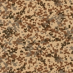 Camo Digital 20273 214 Khaki Robert Kaufman