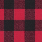 Mammoth Flannel 60 WIDE 20092 3 Red Plaid Robert Kaufman
