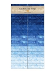 Stonehenge Gradations Strips Indigo Jelly Roll, Northcott