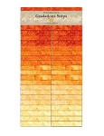 Stonehenge Gradations Strips Sunglow Jelly Roll, Northcott