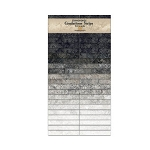 Stonehenge Gradations Strips Graphite Jelly Roll, Northcott