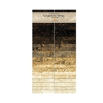 Stonehenge Gradations Strips Onyx Jelly Roll, Northcott
