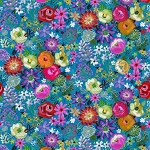 Dear Stella 1609 Multi Floral, August Wren