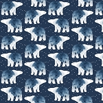 Brave Enough to Dream Flannel F1553 Bears Timeless Treasures