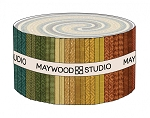 Maywood Flannel Woolies Jelly Roll Strips Desert Sunset