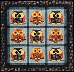 Sundance Batik Night Owls Quilt Kit Island Batiks
