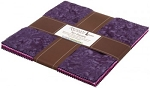 Prisma Dyes Plum Perfect Artisan Batik Layer Cake Robert Kaufman