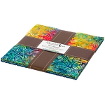 Totally Tropical Artisan Batik Layer Cake Robert Kaufman