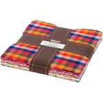 Mammoth Junior Flannel Warm Color Layer Cake Robert Kaufman