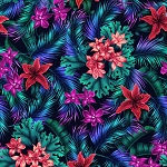 Tropic Gardens 4300 Multi P and B Textiles