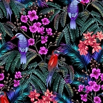 Tropic Gardens 4302 Multi P and B Textiles
