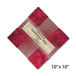 Stonehenge Gradations Tiles Hibiscus Layer Cake , Northcott