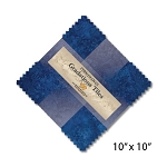 Stonehenge Gradations Tiles Indigo Layer Cake , Northcott