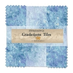 Stonehenge Gradations Tiles Mystic Midnight Layer Cake, Northcott