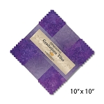 Stonehenge Gradations Tiles Amethyst Layer Cake, Northcott