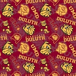 NCAA Minnesota Duluth Bulldogs Cotton