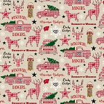 NCAA Wisconsin Christmas Pattern Sykel