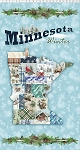 Quilt Minnesota 2021 Y3310 98 Sky Digital MN Patchwork Panel Clothworks