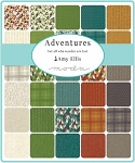 Adventures Charm Pack, Amy Ellis by Moda