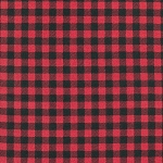 Burly Beavers Buffalo Plaid Check 15995 92 Red, Kaufman