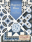 Regencey Blues Book, Antler Quilt Design