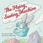 Flying Sewing Machine Softcover Book, Nancy Zieman